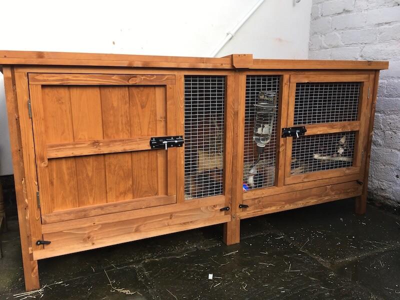 outdoor guinea pig hutch